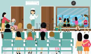 49817543-occupato-attivit-corridoio-dell-ospedale-infermiera-paziente-in-coda-medico-affollata-in-attesa