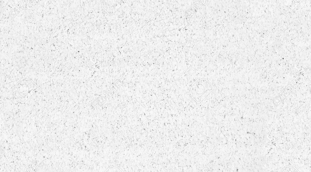 background stone wall, white grunge texture. Vector