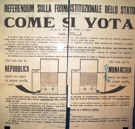 manifesto referendum 1946