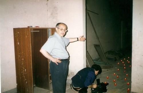 Olocausto con Pippo Sileci interno Magnolfi