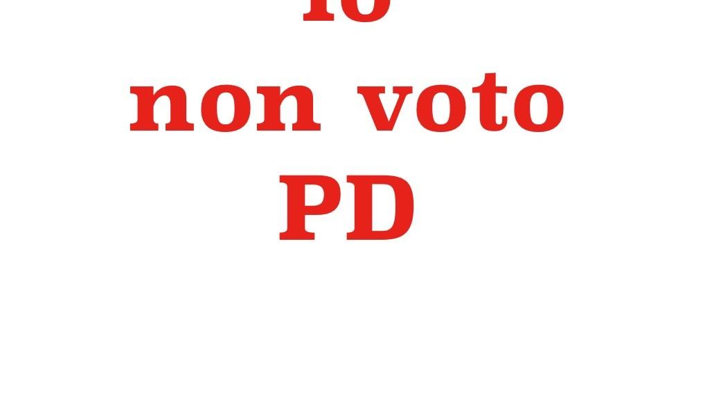 io-non-voto-pd
