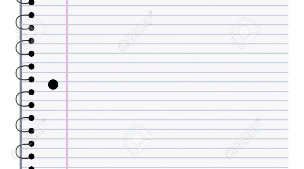 9719746-illustrazione-di-una-pagina-vuota-notebook-che-può-personalizzare